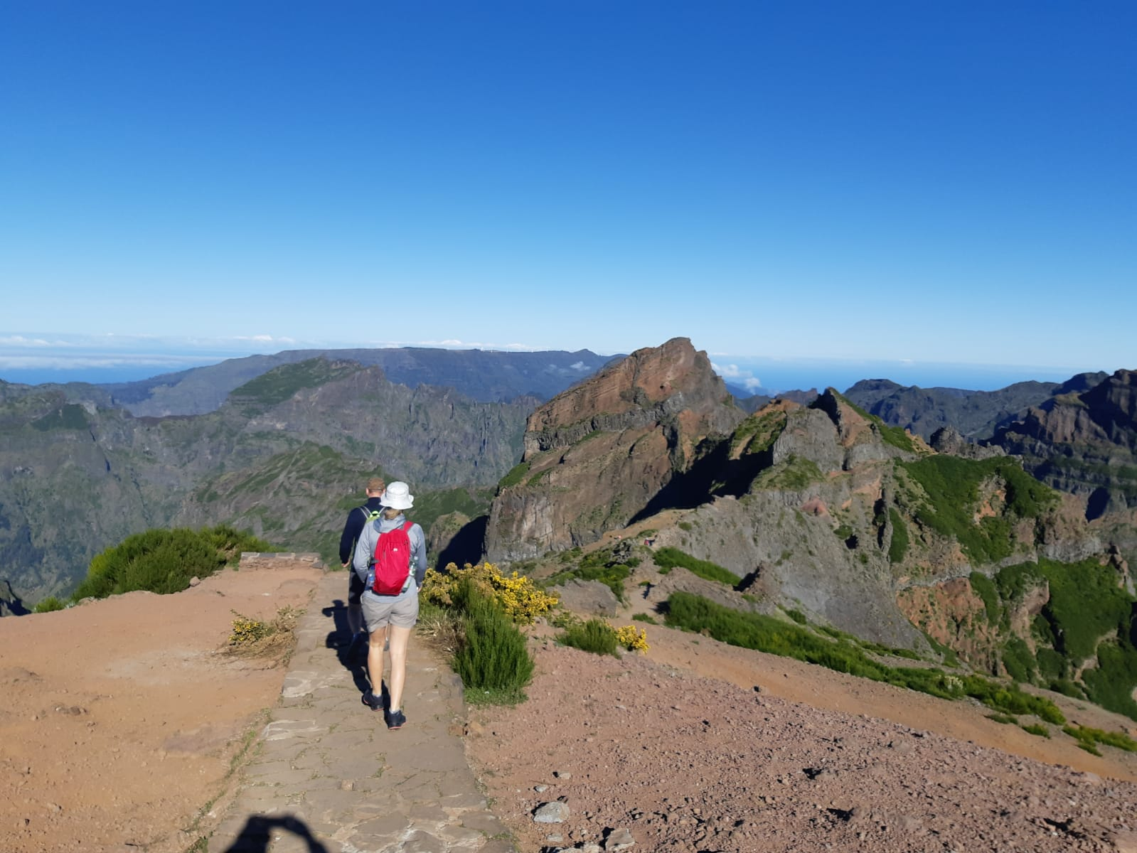 Day 4 – Hiking Week – Pico do Areeiro to Pico Ruivo (Highest Peaks)