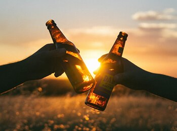 Alcohol has a negative effect on the arteries