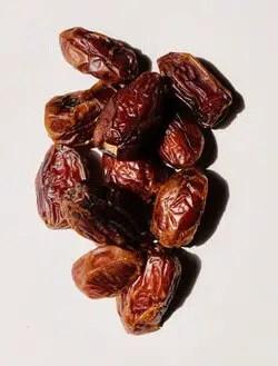 Raisins have high iron content