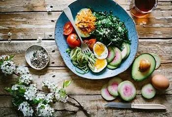 Eat fresh fruits and veggies to decrease calorie intake