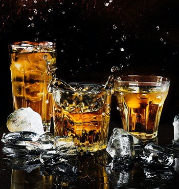 can help treat cirrhosis in the liver caused by drinking too much alcohol