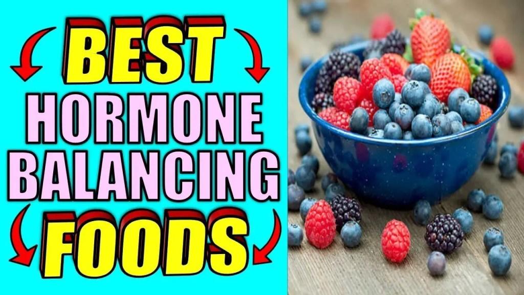 Best hormone balancing foods