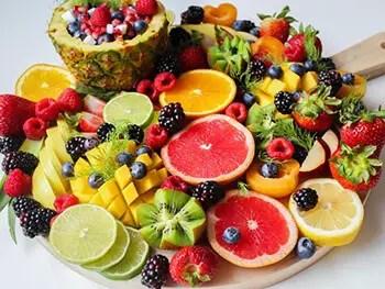 substitute fruits for dessert