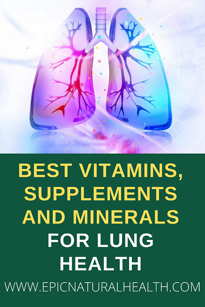 vitamins, supplements, minerals for lung health