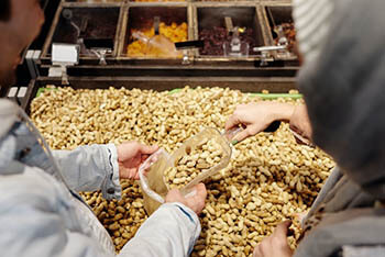 peanuts in local supermarket