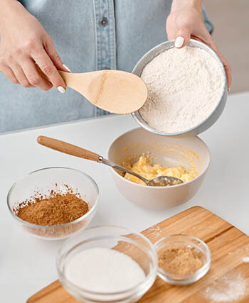 flour and other ingredients
