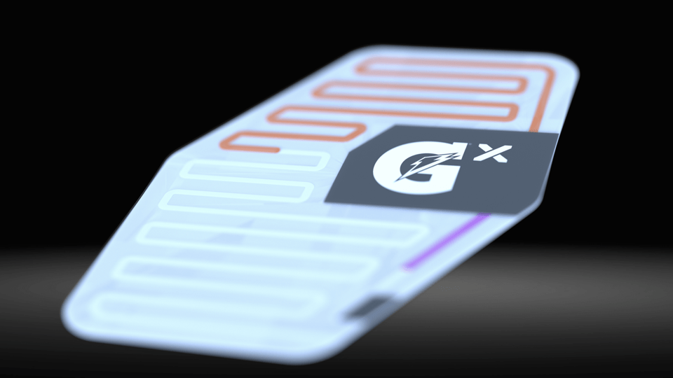 Image of gx athletic sweat patch