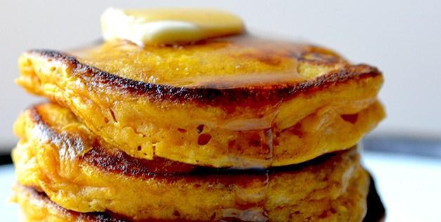 Pumpkin and Fresh Ginger Pancakes