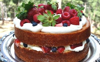 Lemon Glazed Southern Plantation Chantilly Cake
