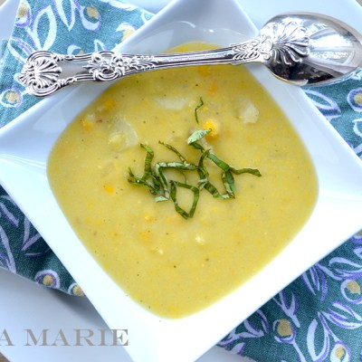 Vichyssoise Corn Chowder