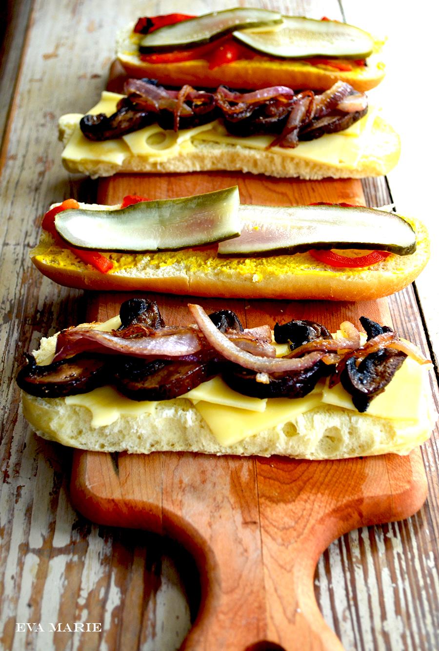 Veggie-Cuban sandwich recipe 2