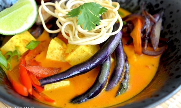 Vegan Burmese Kao Soi