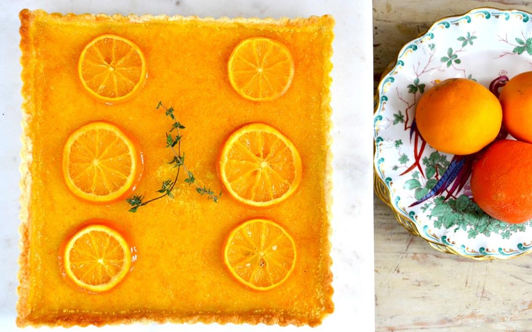Sonoran Orange & Ginger Tart