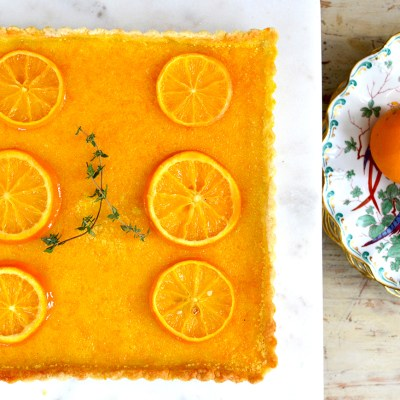 Sonoran Orange & Ginger Tart