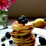 Lemon, Blueberry & Ricotta Pancakes