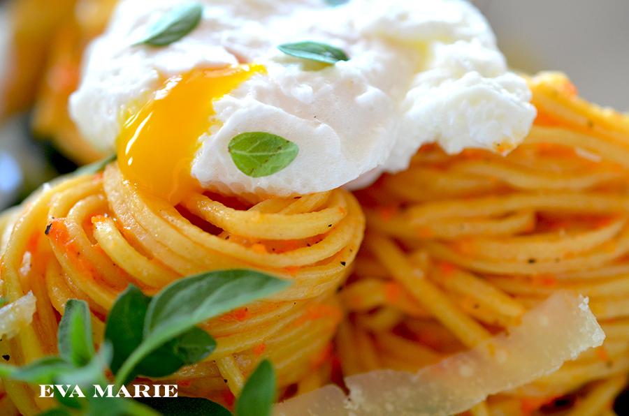 spaghetti-romesco