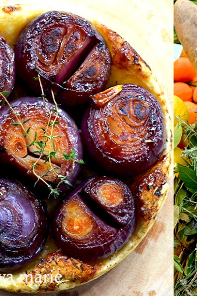 Red Onion Tarte Tatin
