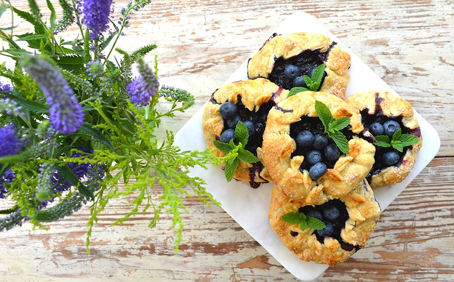 Organic Blueberry Mini-Galette