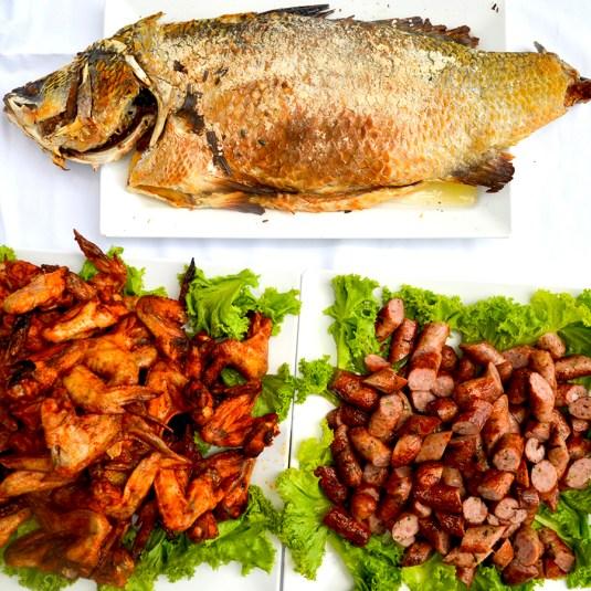 Fish and chicken Phuket sq