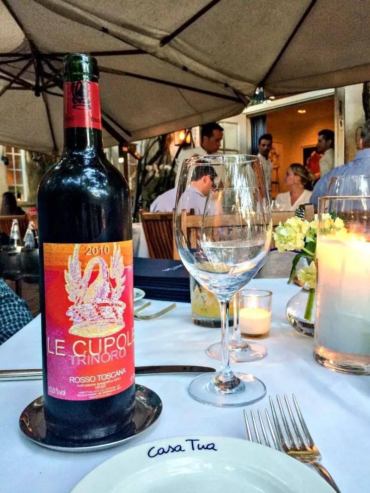 Casa Tua Wine List Prices