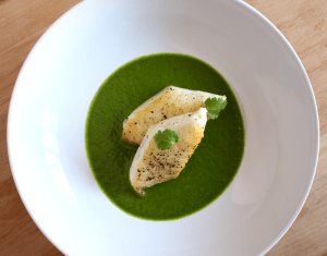 Tilapia with Cilantro Pesto