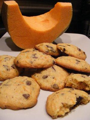 Biscuits au potiron