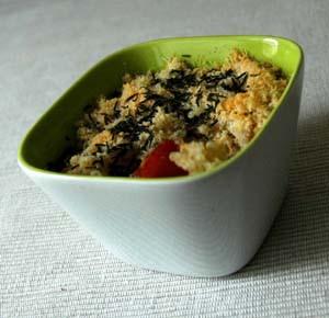 Tomates au thym et quinoa