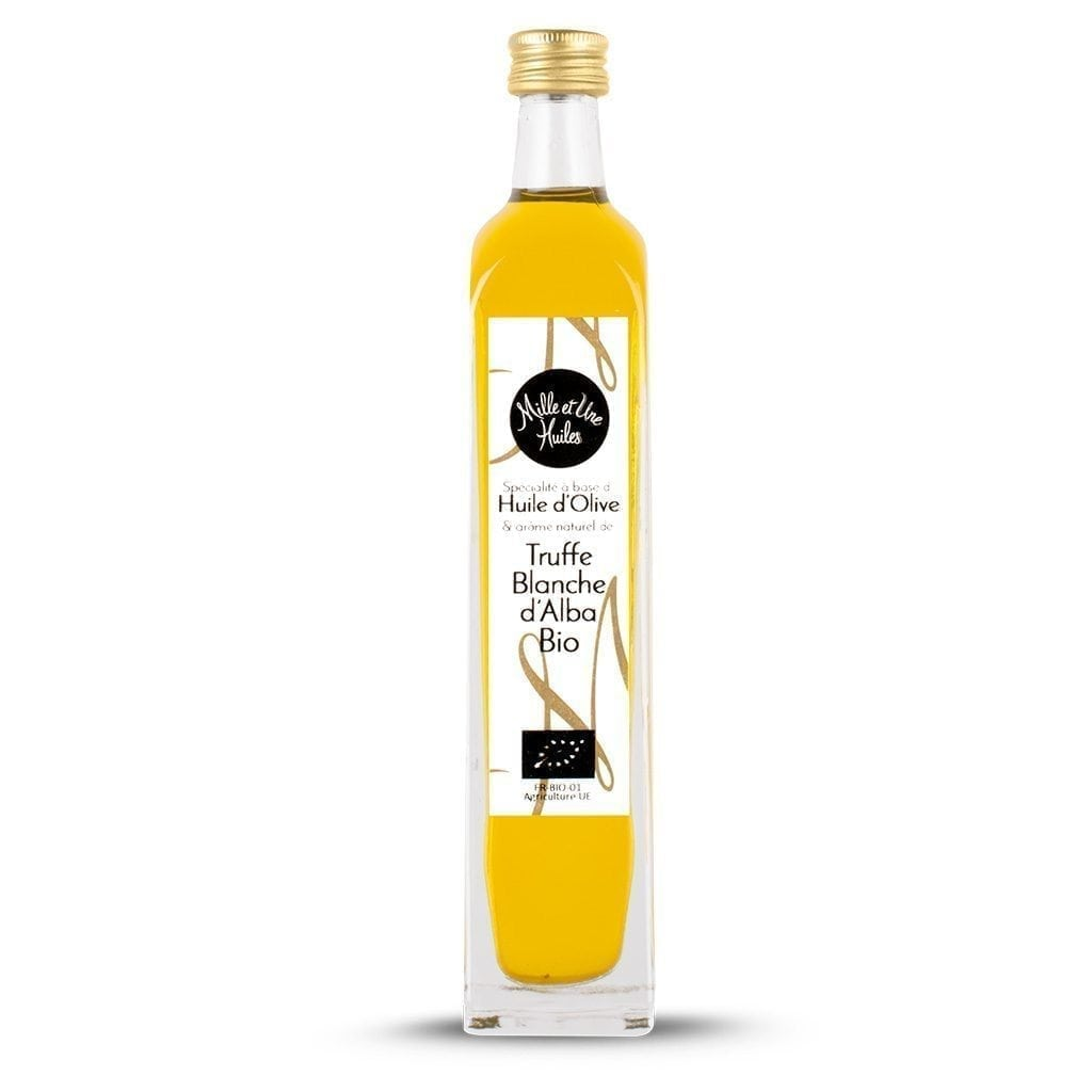 huile d olive aromatisee a la truffe blanche biologique 1001 huiles 100ml