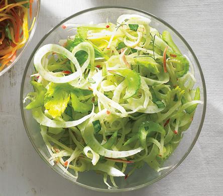 Celery, Apple, and Fennel Slaw recipe