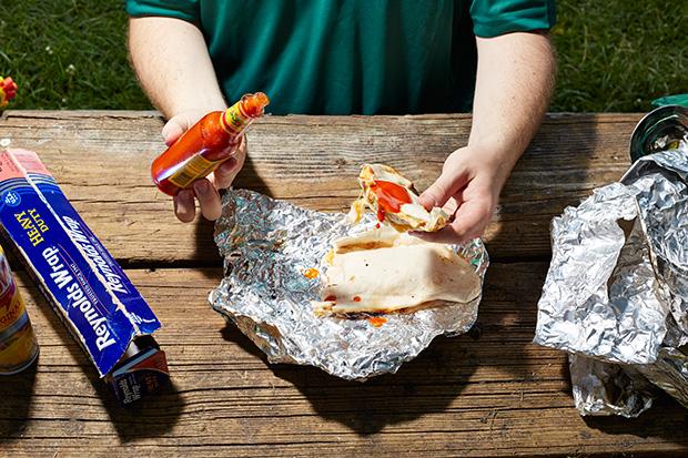 The Boy Scouts Campfire Quesadilla recipe