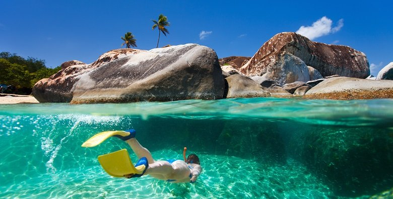 The Baths On Virgin Gorda In The British Virgin Islands