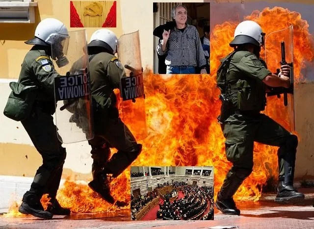 Απ' ό,τι φαίνεται η δημοκρατία και απειλείται και εκβιάζεται