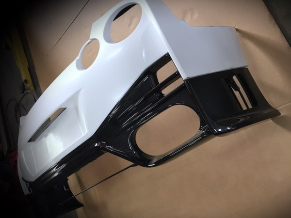 n-tune rear bumper raw 2