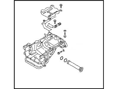 Nismo Carbon Fiber Front Bumper & Front Splitter: 2009