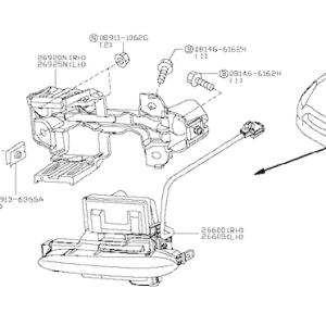 Nissan OEM LED Daytime Running Light Kit DBA (Set LH/RH): 2012 2016 Nissan R35 GTR 2