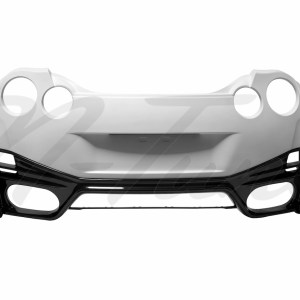 N-Tune Rear Bumper Kit (FRP): 2009-2020 Nissan R35 GTR