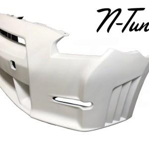 N-Tune Front Bumper (FRP): 2009-2016 Nissan R35 GTR