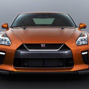 Nissan OEM Front Bumper Lower Grille: 2017+ R35 GTR