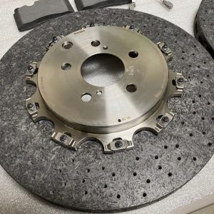 "Nissan OEM ""CCM"" Carbon Ceramic Rotors (Nismo): 2020+ Nissan R35 GTR (Rear Pair)"