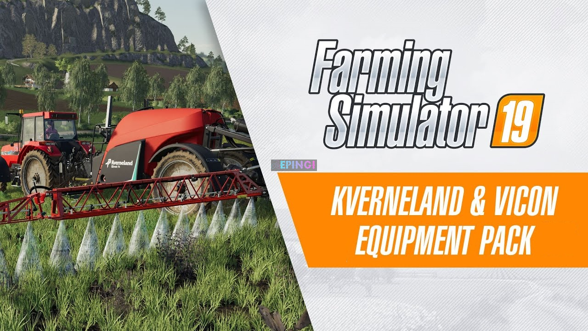 Farming Simulator 19 Kverneland and Vicon Equipment Pack DLC PS4 Version Full Game Free Download - ePinGi