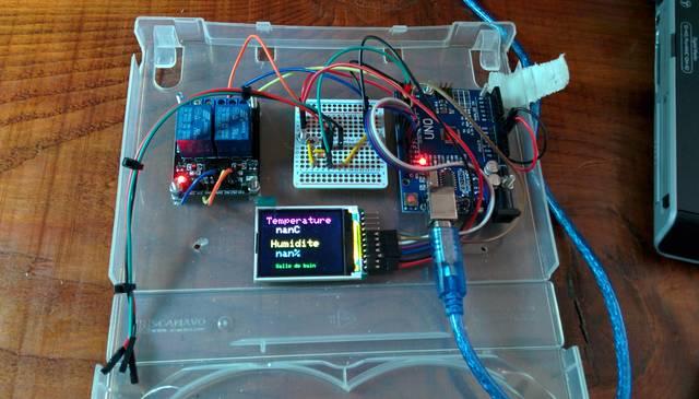 Ventilation lectrique Contrle par un Arduino  pingl