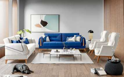 Κλασικός Καναπές Κρεβάτι Orlando 13155