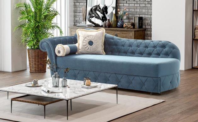 Κλασικό Ανάκλιντρο Καναπές Κρεβάτι Κλασικό Ampir 13139