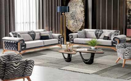 Κλασικός Καναπές Κρεβάτι Τριθέσιος Suvari (1τμχ.) 13151