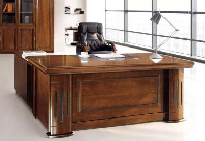 Κλασικό Γωνιακό Γραφείο Με Συρταριέρα 3 τεμάχια G-127600