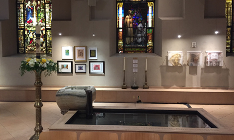 Philadelphia cathedral's arts show explores 'themes and variations'