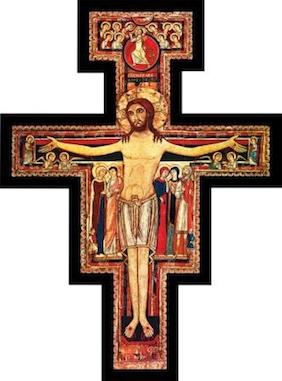 Saint francis Crucifix