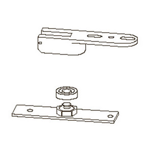 Dorma 8852 RTS88 Series Adjustable End Load Floor Pivot