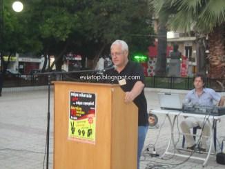 Ο πρόεδρος της ΕΠΚΑ-ΣΤΕ Γιώργος Μητροπέτρος
