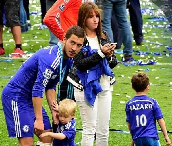 Eden Hazard Family